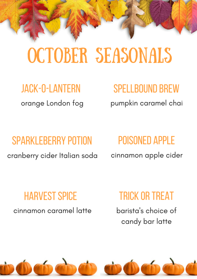 October seasonals