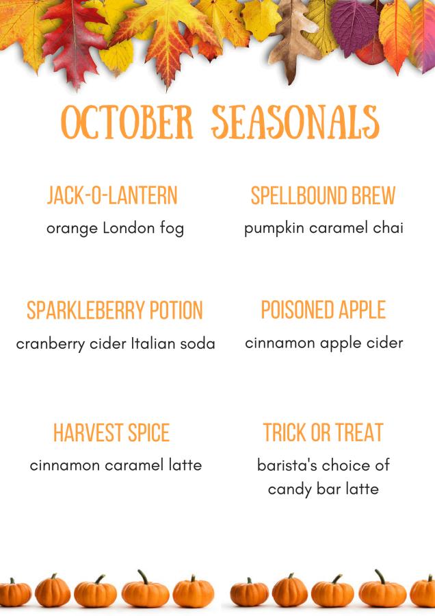 October seasonals